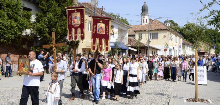 Slava Sveta Trojica proslavljena u crkvi Svete Trojice u Grockoj