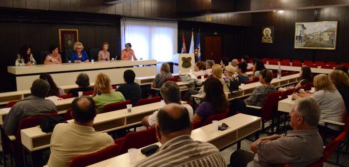 Prvi radni sastanak povodom udruživanja umetnika opštine Grocka