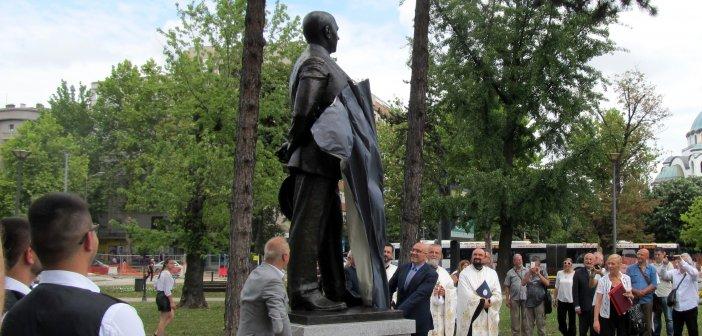 На Врачару је откривено спомен-обележје Милутину Миланковићу