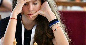 ЈОВАНА СРДАНОВИЋ из Гроцке ВИЦЕШАМПИОН ЕВРОПЕ у кадетском шаху
