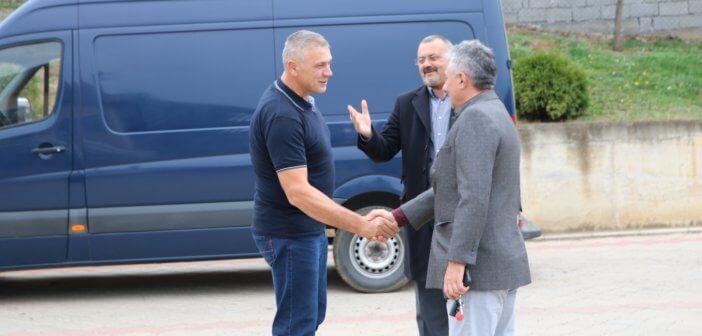 Председник Симоновић посетио домаћинство Животе Мијаиловића у Дражњу