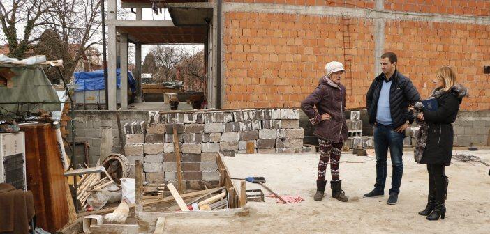 Обилазак породице Светлане Урошевић у Гроцкој