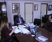 Председник Симоновић на састанку са новим директором Дома здравља Гроцка