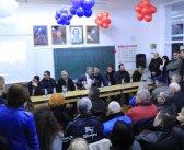 Председник Симоновић на збору грађана у Брестовику
