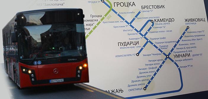 Нове линије градског превоза