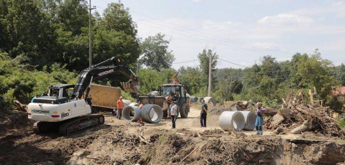 Санација мостова оштећених бујицама