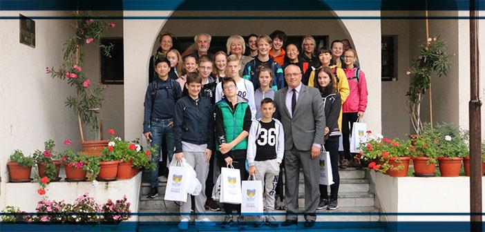 """Prijem učesnika manifestacije """"Međunarodni susret dece Evrope"""""""